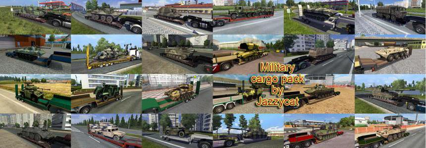 Military Cargo Pack by Jazzycat v4.0