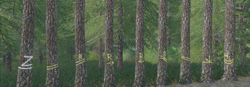 Placeable skidtrail trees v1.0.0.0