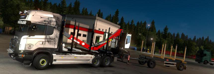 Scania R RJL Rigid Forest Parts v1.0