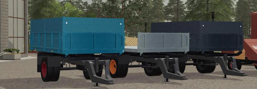 Selfmade GAZ 53 trailer v1.0