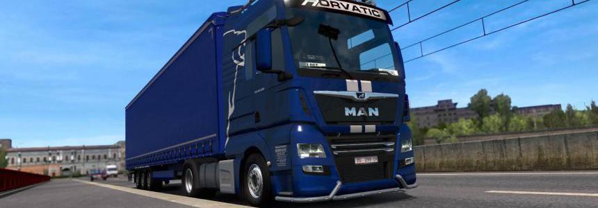 Transporti Horvatic MAN TGX E6 v1.0