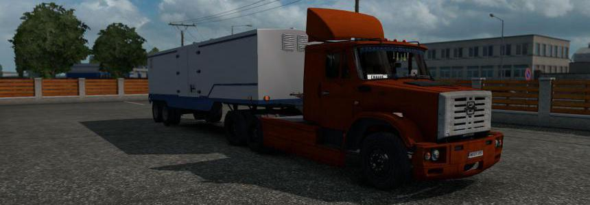 Zil 4421 for ETS2 1.36 DX11