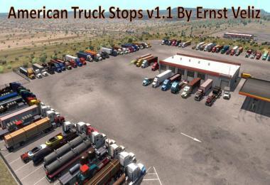 American Truck Stops v1.1 by Ernst Veliz 1.36.x