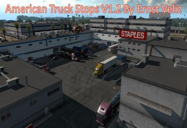 American Truck Stops v1.2 By Ernst Veliz