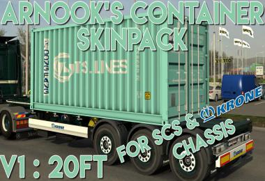 Arnook's SCS Containers Skin Project v1.0