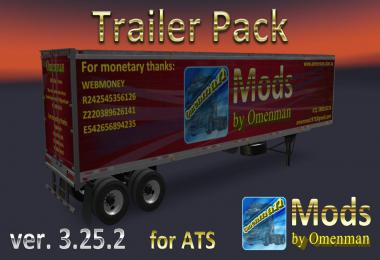 [ATS] Trailer Pack by Omenman v3.25.2 1.36.x