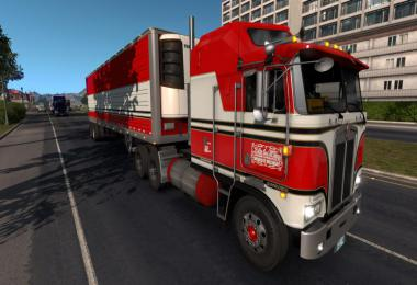 BJ and The Bear truck skin for Kenworth K100E and trailer v1.1