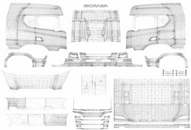 Complete pack of truck & trailer templates v1.5
