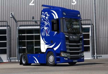 Dragicevic Style skin for Scania S v1.0