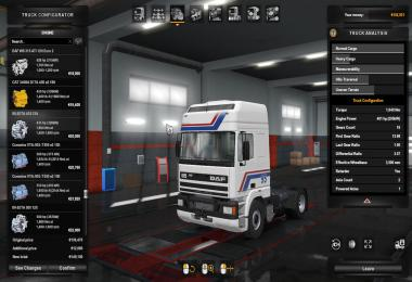 Engine Sound Pack For Xbs Daf Trucks 1.36