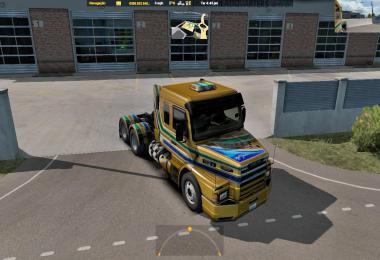FabioContier Mod Scania 113H ATS v2.0