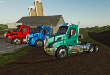 Freightliner Cascadia Day Cab v1.0