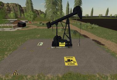 FS19 CRUDE OIL PUMP v1.2