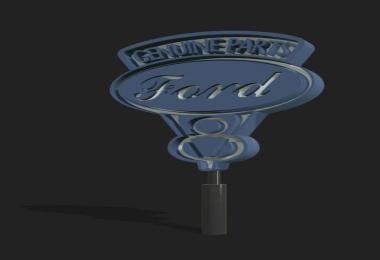 FS19 Old Ford Sign v1.0