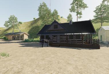 FS19 LogCabinHouse beta