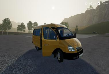 Gaz 3221 Gazelle for a card with Berry v1.0.0.0