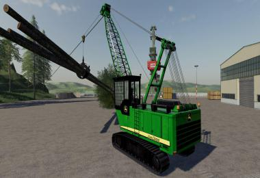 John Deere Grapple Yarder v1.0