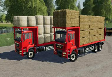 MAN TGS 18.500 Bale Transport AutoLoad v1.0.0.0