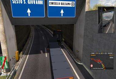 Milano Tunnel Fix for ProMods 2.43 1.36.x