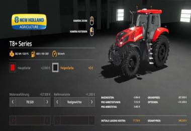 New Holland T8+ Series v1.0.0.0