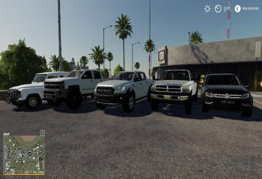 Pickup Trucks Pack By Josha