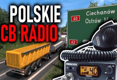 Polskie CB RADIO for ETS2 1.36.x