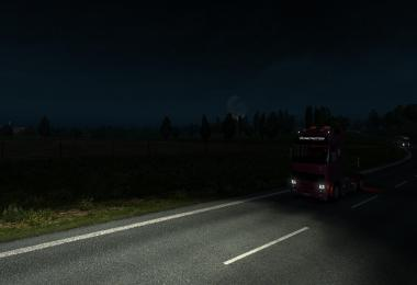 REALISTIC NIGHT SKIES ETS2 1.36