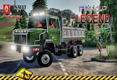 RENAULT C280 6X4 KERAX v1.5
