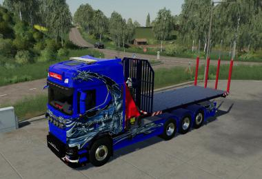 SCANIA NG HKL AND CRANE v1.1