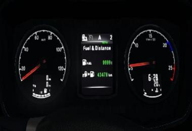 Scania S 10.000l Fuel Tank 1.36.x