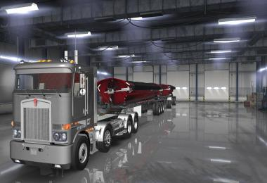 SmithCo Side Dump Double Trailer v1.2 1.36