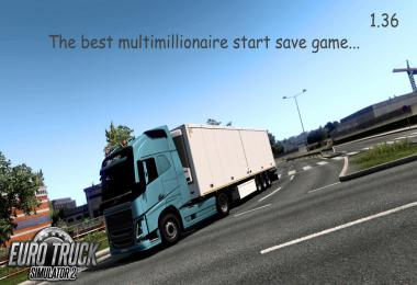 The best multimillionaire start savegame 1.36.x