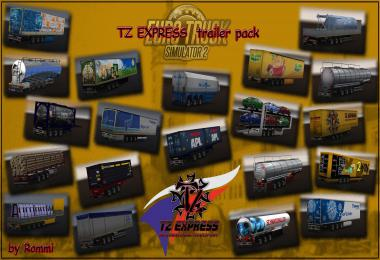 TZ Express Trailers Pack + Ownable Pack 1.36