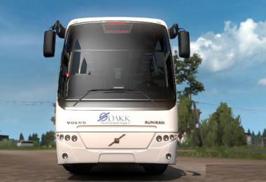 Volvo B12B TX Bus and DAKK Szeged Skin 1.36.x