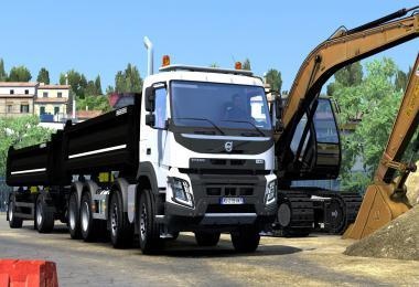 Volvo FMX Kipper Rework by Mistersix v1.2