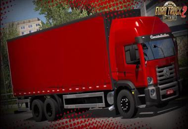 VW Constellation 24-280 + Graneleiro Trailer v1.0 1.36.x