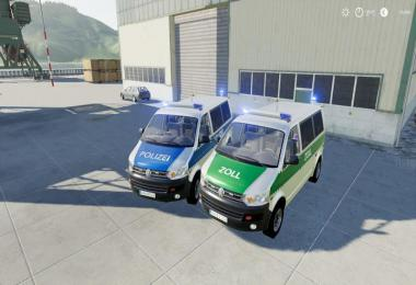 VW T5 police and customs v1.0.0.0