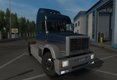 ZIL 5423 ETS2 1.36 DX11 gearbox update v1.2.1