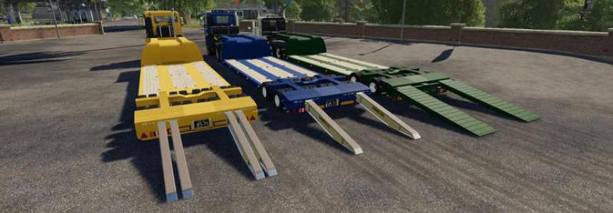 16Wheels Lowdeck Trailer v1.2.2.0