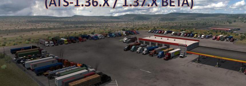 American Truck Stops v1.4 By Ernst Veliz