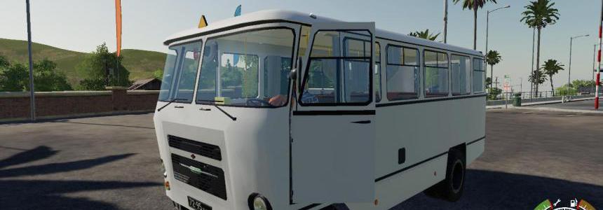 Bus Kuban for the map Village Yagodnoe v1.0.3