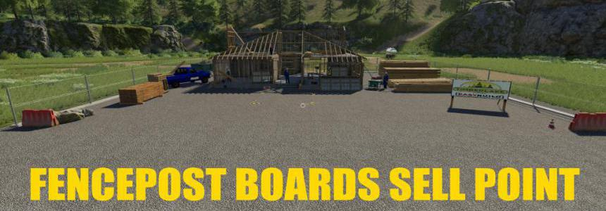 FENCEPOST and BOARDS Sell Point v1.0.0.0