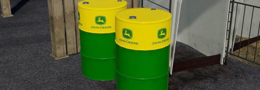 John Deere Oil Drum (Prefab) v1.0.0.0