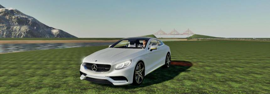 Mercedes S500 Coupe Fs19 v1.0