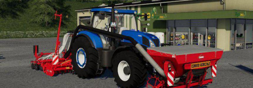New Holland T7 SWB TIER4A v2.0