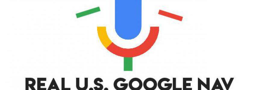 Real US Google Nav For ATS v2 1.37.x