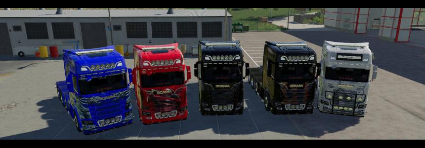 Scania NG trucks v2.0