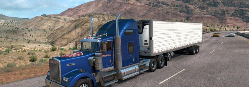 Skin [TruckAtHome] scssoft for ats 1.36.x