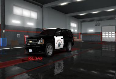 Highway Patrol skin for Chevrolet Tahoe 2007 v1.0