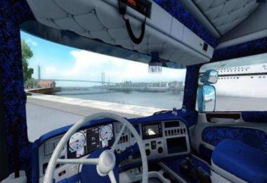 Scania Streamline Special Custom Interior -Fixed Mirrors- 1.36.x